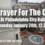 Join us Wednesday January 24th to Pray For The City!